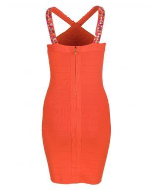 Spilgti oranža grezna kleita   MARCIANO by GUESS