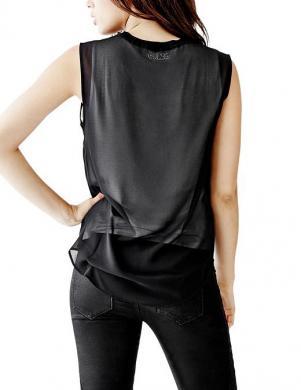 GUESS melns sieviešu krekls