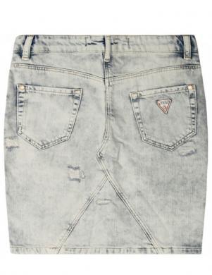 GUESS gaiši džinsu svārki