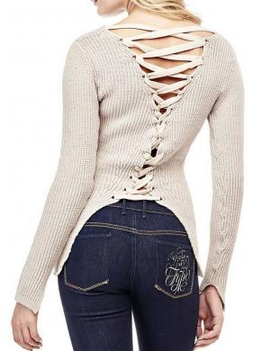 GUESS smilšu krāsas sieviešu džemperis