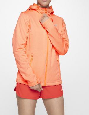 Koraļļu krāsas sieviešu sporta džemperis SFD001 4F