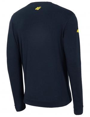 Vīriešu tumši zils džemperis BLM014 4F
