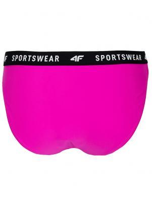 Rozā sieviešu peldkostīma apakšbikses KOS004D 4F