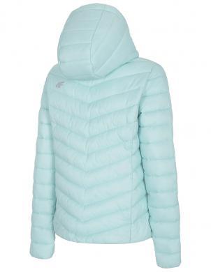 Sieviešu zaļa brīva laika jaka ar kapuci KUDP004 4F