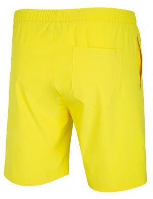Vīriešu dzelteni peldēšanas šorti SKMT002 4F