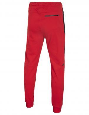 Vīriešu sarkanas treniņbikses SPMD002 4F