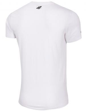 Vīriešu balts krekls TSM029 4F
