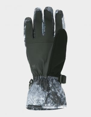 Krāsaini vīriešu slēpošanas cimdi REM002 4F