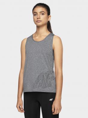 Pelēks sieviešu sporta krekls TSDF003 4F