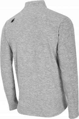 Vīriešu gaiši pelēks flīša džemperis PLM001 4F