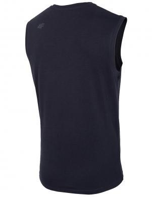 Vīriešu bez piedurknēm tumši zils krekls TSM001 4F