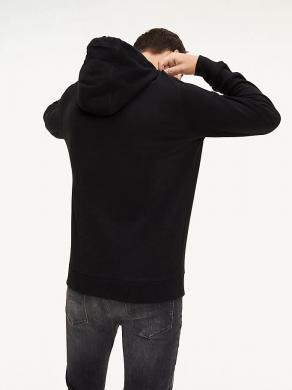 TOMMY JEANS melns vīriešu džemperis