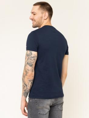 TOMMY JEANS melns vīriešu krekls