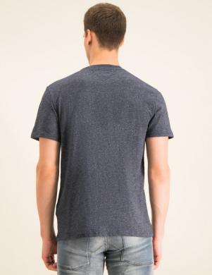 TOMMY JEANS tumši pelēks vīriešu krekls