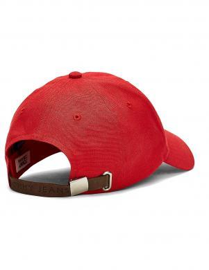 TOMMY JEANS sarkana vīriešu cepure