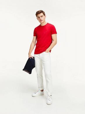 TOMMY HILFIGER sarkans vīriešu krekls