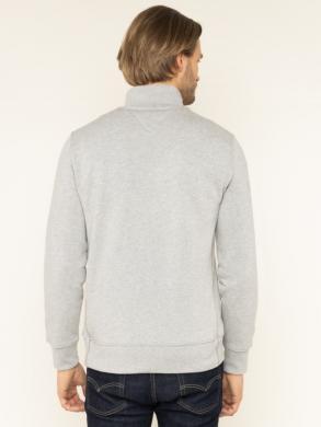 TOMMY HILFIGER pelēks vīriešu džemperis