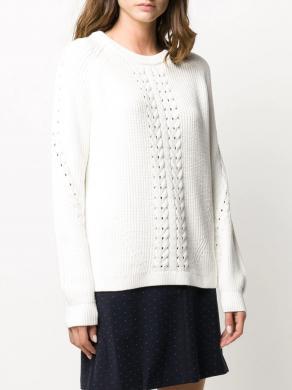 TOMMY HILFIGER balts sieviešu džemperis