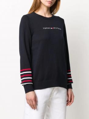 TOMMY HILFIGER zils sieviešu džemperis