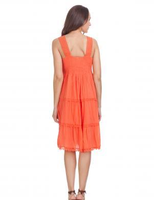 Oranža sieviešu kleita DIVINE