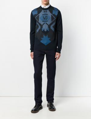 VERSACE JEANS stilīgi vīriešu tumši zilas krāsas džinsi