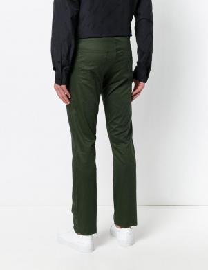 Tumši zaļas krāsas vīriešu bikses VERSACE JEANS