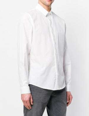 Baltas krāsas klasisks vīriešu krekls VERSACE JEANS