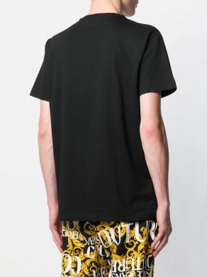 VERSACE JEANS melns vīriešu krekls