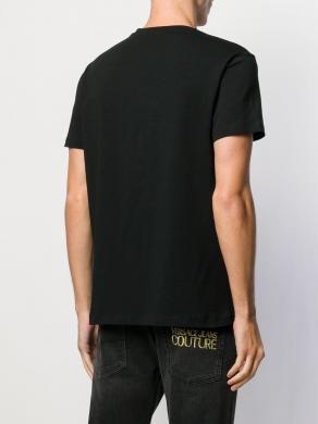 VERSACE JEANS melni vīriešu krekls