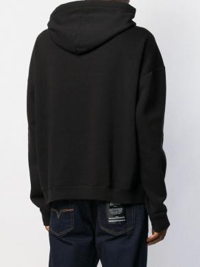 VERSACE JEANS melns vīriešu džemperis