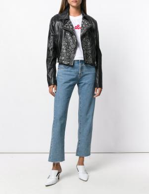 VERSACE JEANS  ādas stilīga sieviešu jaka