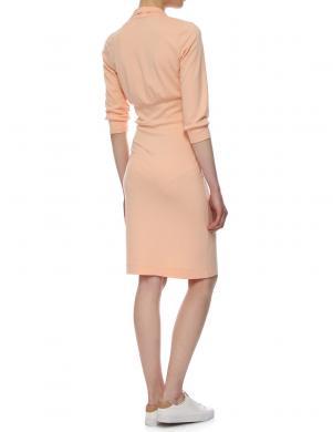 YULIYA BABICH oranžas krāsas stilīga sieviešu kleita