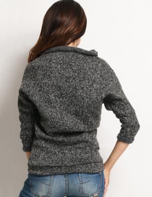 AWAMA pelēks sieviešu džemperis