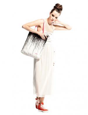 COP. COPINE viegla kritoša baltās krāsas kleita
