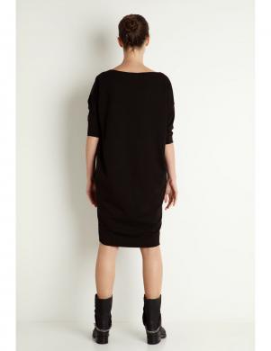KORTAS melnas krāsas kleita ALBA