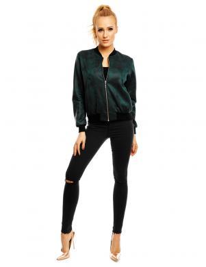 LENTAL zaļas krāsas stilīga sieviešu jaka