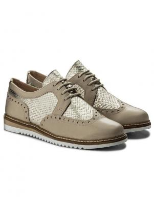 Sieviešu ādas oksforda stila klasiski apavi CAPRICE