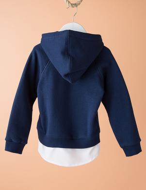 DODO KIDS zilas krāsas bērnu džemperis