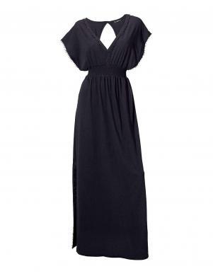 HEINE gara melnas krāsas sieviešu kleita