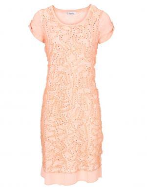 LINEA TESINI Rozā grezna kleita