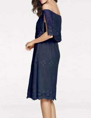 Zila skaista sieviešu kleita ASHLEY BROOKE
