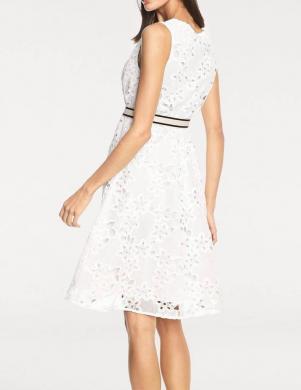 Balta gipīra kleita ar rāvējslēdzēju RICK CARDONA