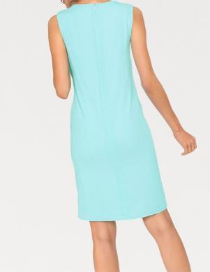Eleganta tirkīza krāsas kleita ASHLEY BROOKE