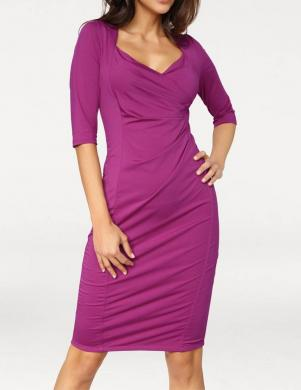 ASHLEY BROOKE violētas krāsas stilīga sieviešu kleita