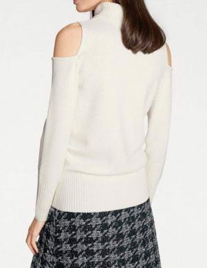 Balts vilnas sieviešu džemperis RICK CARDONA