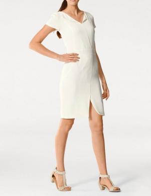 PATRIZIA DINI eleganta smilšu krāsas sieviešu kleita