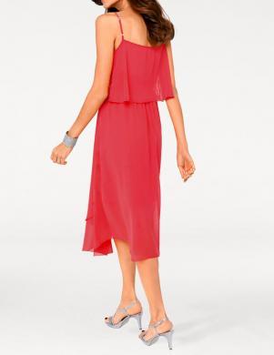 ASHLEY BROOKE kokteiļu koraļļu krāsas sieviešu kleita