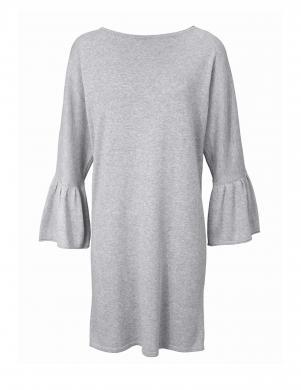 Pelēka kleita ar plašām piedurknēm HEINE