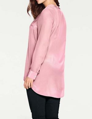 Rozā zīda krekls ASHLEY BROOKE