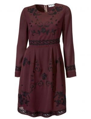 Tumši sarkana sieviešu kleita RICK CARDONA